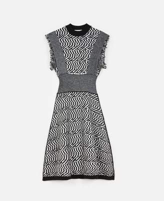 Stella McCartney Patterned Midi Dress, Women's