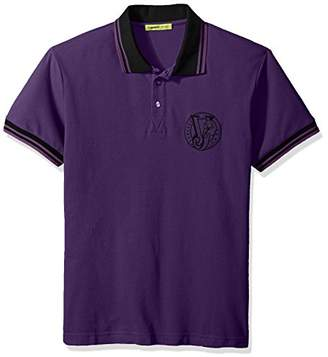Versace Men's Basic Logo Polo