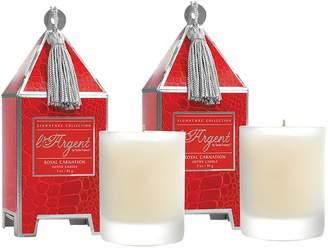 Seda France Royal Carnation Mini Pagoda Candle Gift Set