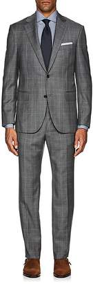 Barneys New York Men's Lotus Plaid Wool Two-Button Suit