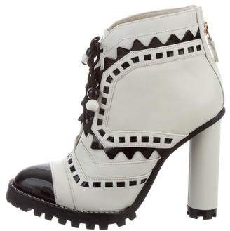 Sophia Webster Riko Tread Ankle Boots