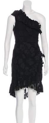 Ulla Johnson One-Shoulder Midi Dress