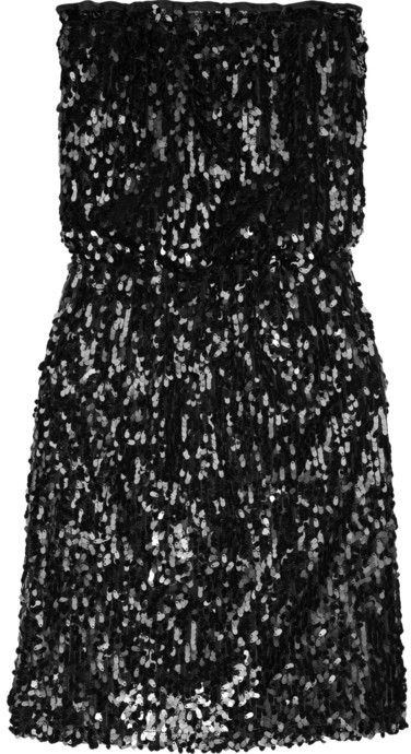 Paul & Joe Paul & Joe for theOutnet sequined bandeau dress