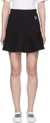 Kenzo (ケンゾー) - Kenzo ブラック タイガー クレスト フレア スカート