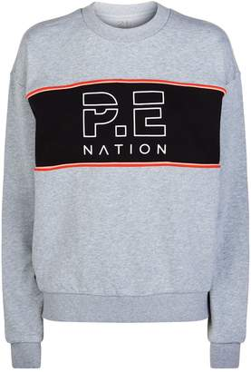 P.E Nation Invictus Logo Sweatshirt