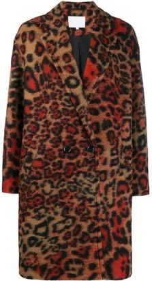 Lala Berlin leopard pattern coat