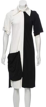 Celine Colorblock Knee-Length Dress