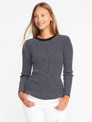 Rib-Knit Zip-Back Sweater for Women $29.99 thestylecure.com