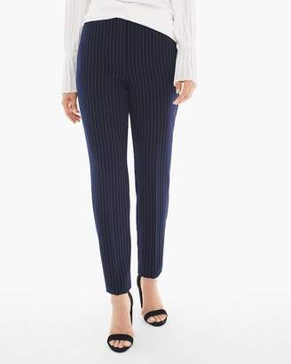 Chico's Soft Striped Ankle Pants