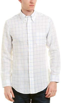 Brooks Brothers 1818 Regent Fit Linen Woven Shirt