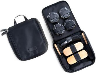 Bey-Berk Black Ballistic Shoe Shine Kit