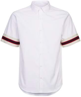 Sandro Stripe Trim Shirt