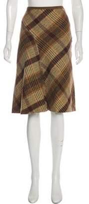 Max Mara Weekend Wool Knee-Length Skirt