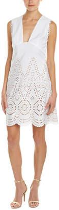 Stella McCartney Perforated A-Line Dress