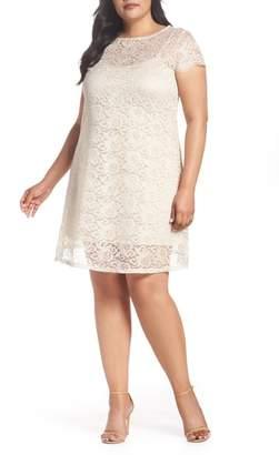 Marina Lace A-Line Dress