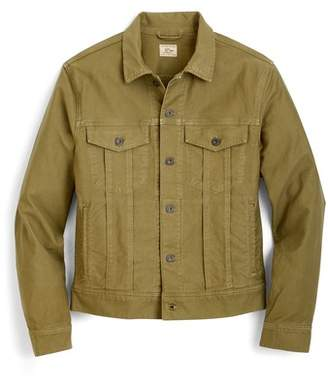 J.Crew J. CREW Garment Dyed Bedford Cord Trucker Jacket