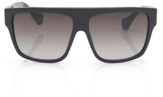 D-Frame Sunglasses in Black