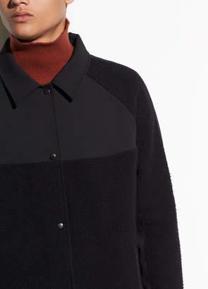 Mixed Media Coaches Jacket