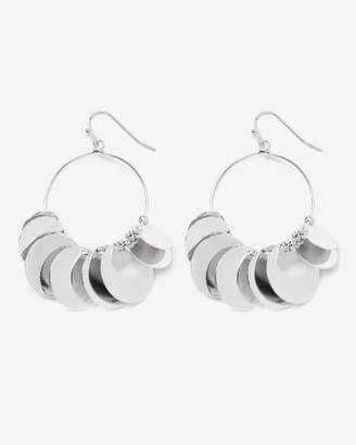 Addition Elle Disc Hoop Earrings