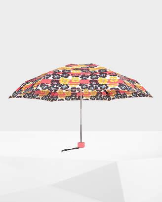 Hunter Floral Stripe Mini Compact Umbrella