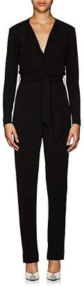 Martin Grant Women's Belted Crepe Jersey Jumpsuit