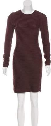 Kimberly Ovitz Textured Knee-Length Dress