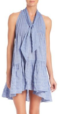 Lisa Marie Fernandez Tiered Babydoll Dress $580 thestylecure.com