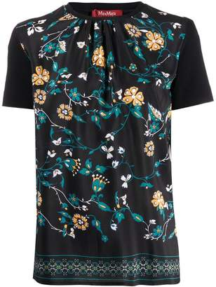 Max Mara floral print top