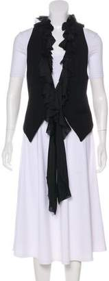 Elizabeth and James Ruffle-Accented Vest