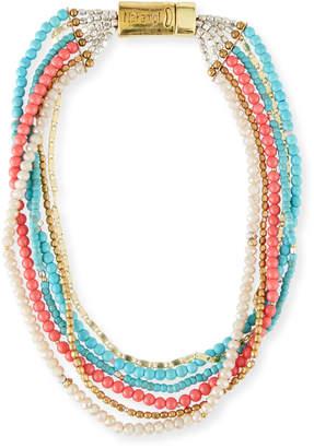 Nakamol Multi-Strand Beaded Bracelet/Necklace