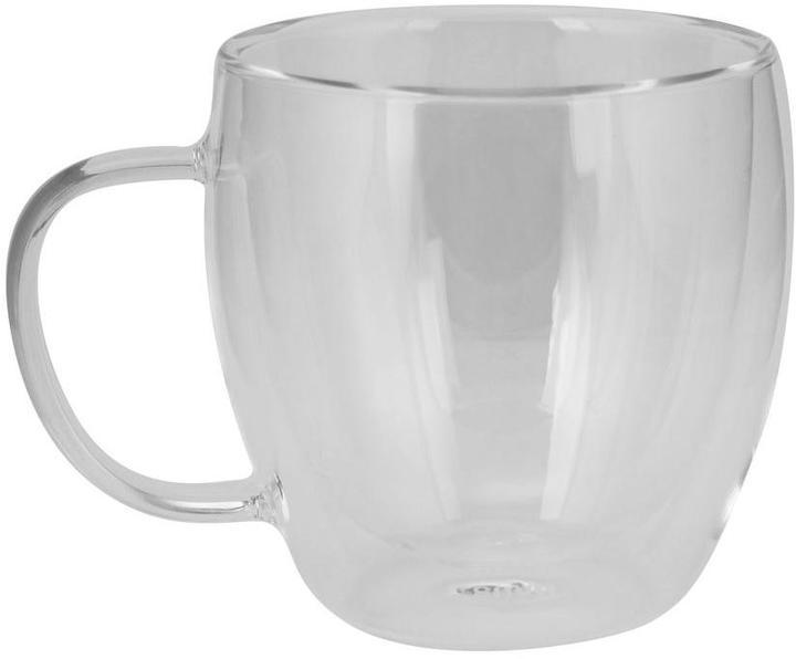 KALORIK Haus 8.5 oz. Double Wall Glass Coffee Cups (Set of 2)