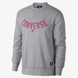 Converse Essentials Lightweight Graphic Crew Men's Sweatshirt