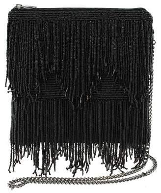 Mary Frances Embellished Bead Fringe Shoulder Bag