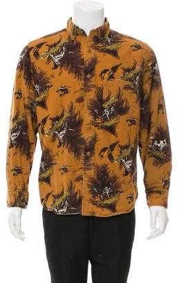 Woolrich Duck Hunt Print Shirt