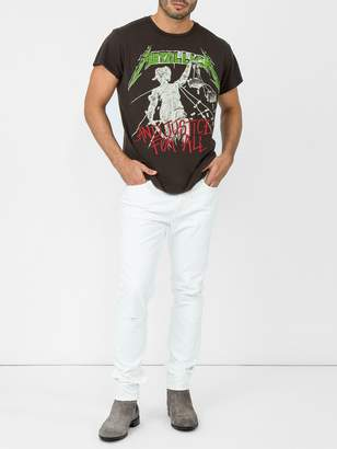 """Justice Madeworn Metallica """"... and for all"""" t-shirt"""