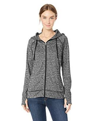 1d0dacaa7d627 Amazon Essentials Women s Brushed Tech Stretch Full-Zip Hoodie