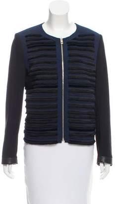 Rag & Bone Long Sleeve Two-Tone Jacket