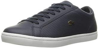 Lacoste Women's Straightset 316 1 Caw Fashion Sneaker $62.90 thestylecure.com