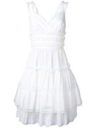 Dolce & Gabbana Sweetheart Ruffle Dress