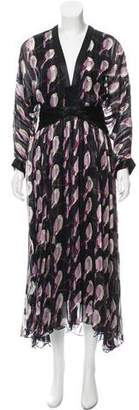 Erin Fetherston Printed Maxi Dress