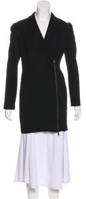 Pierre Balmain Asymmetrical Short Coat