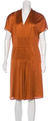 Akris Silk Knee-Length Dress