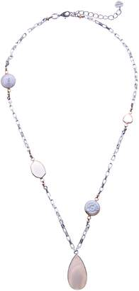 Nakamol Design Facet Stone Chunk Chain Necklace