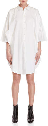 Ter Et Bantine White Cotton Shirtdress