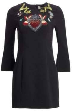 Cinq à Sept Josephine Embroidered Sheath Dress