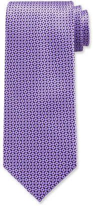 Stefano Ricci Circle Print Silk Tie