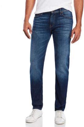 7 For All Mankind Salt Water Destroyed Slimmy Jeans