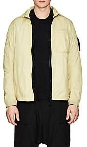 Barneys New York Stone Island XO Men's Washed Tech-Fabric Shirt Jacket-Beige, Tan