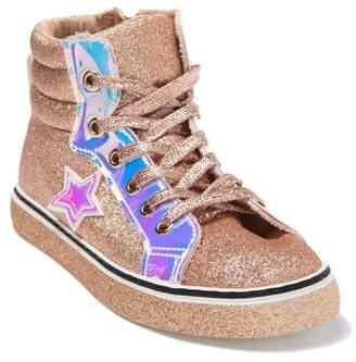 OLIVIA MILLER OMG High-Top Glitter Sneakers (Toddler, Little Kid, & Big Kid)