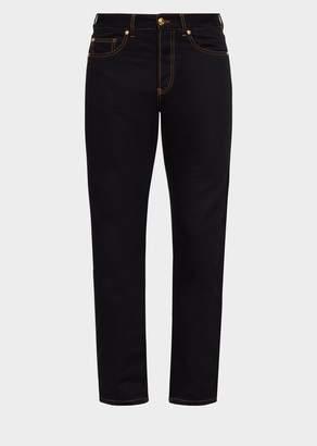 Versace Contrast Stitch Jeans